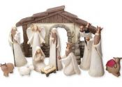 Contemporary Nativity Set